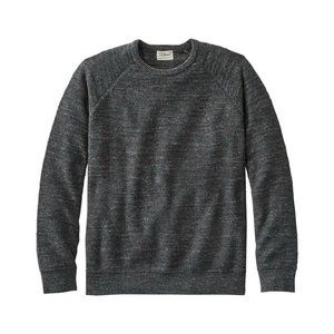 L.L. Bean Textured Organic Cotton Crewneck Sweater